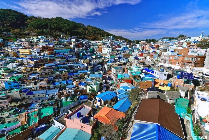 絶景探しの旅 - 0782 東洋のサントリーニ甘川文化村 (釜山広域市 沙下区)