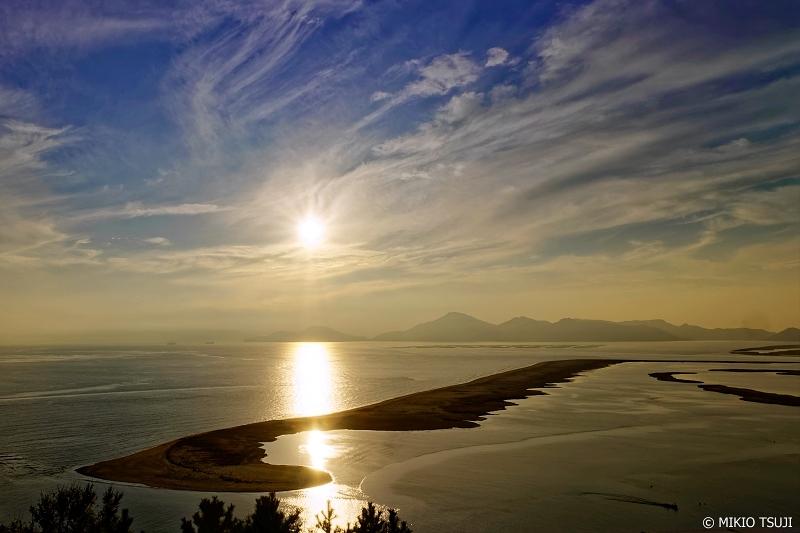 絶景探しの旅 - 0783 洛東江デルタのフレア舞う太陽 (釜山広域市 沙下区)