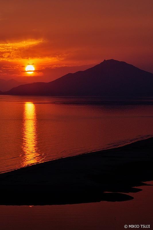 絶景探しの旅 - 0784 デルタに落ちる夕陽 (洛東江/釜山広域市 沙下区)
