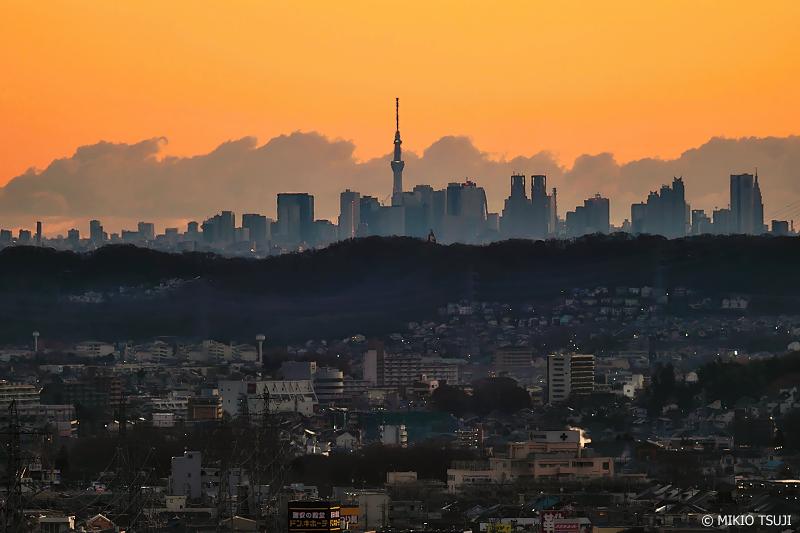 絶景探しの旅 - 0819 50km彼方 東京メトロポリタンの朝の風景 (東京都 八王子市)