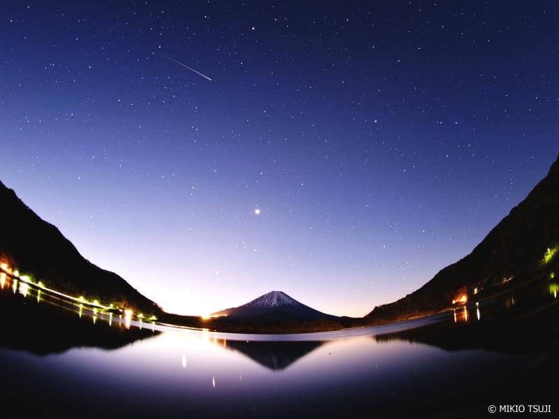 絶景探しの旅 - 0821 しぶんぎ座流星群と富士山 (精進湖/山梨県 富士河口湖町)