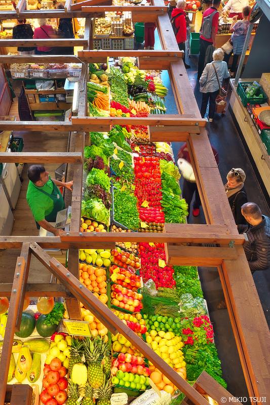 絶景探しの旅 - 0833 フランフルトのフルーツマーケット (クラインマルクトハレ/ドイツ フランクフルト)