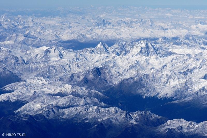絶景探しの旅 - 0844 空からマッターホルン (アルプス山脈/スイス上空)