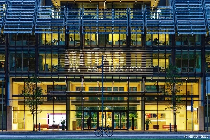 絶景探しの旅 - 0852 グリーンとガラスのイタリアンデザインオフィス (イタリア トレント)