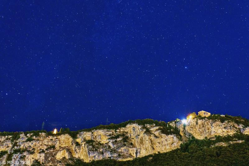 絶景探しの旅 - 0850 トレントの空に輝く満天の星 (イタリア トレント)