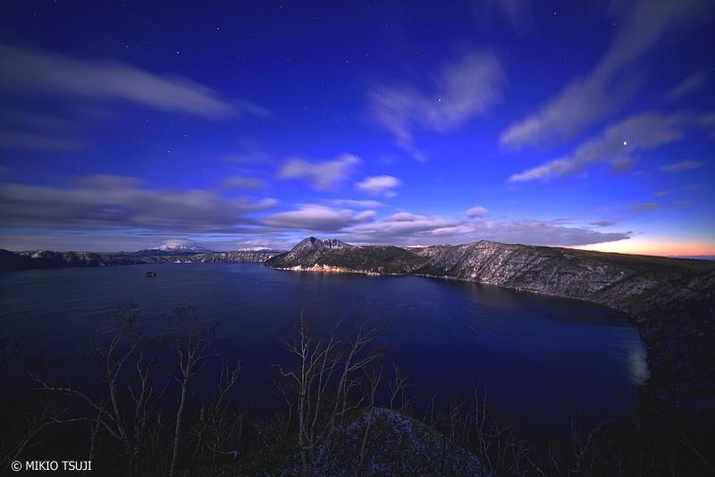 絶景探しの旅 - 0856 摩周ブルーの夜明け (摩周湖/北海道 弟子屈町)