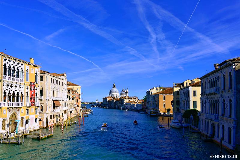 絶景探しの旅 - 0865 空と水の大運河 カナル・グランデ (イタリア ベネチア)