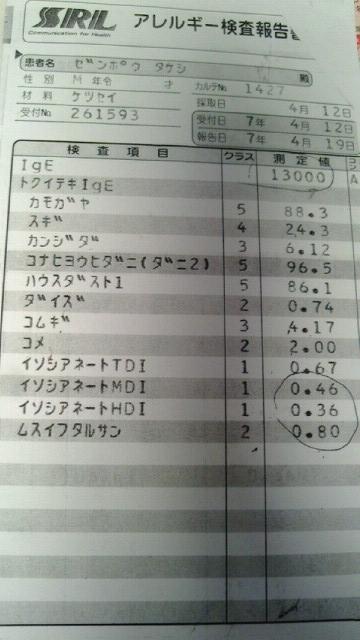 アトピー検査image