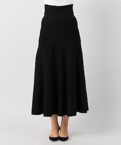 フレアスカート ブラック